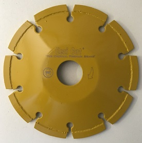 Convex 125mm Segmented Diamond Blade