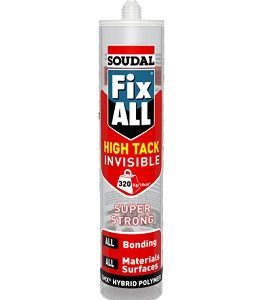 Soudal Fix All High Tack Invisible