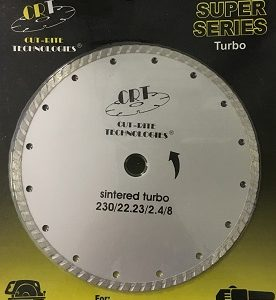 Cutrite 230mm Turbo Diamond Blade