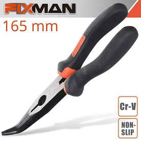 "FIXMAN INDUSTRIAL BENT NOSE PLIERS 6"" X 165MM"
