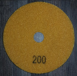 Diamond Polishing Pad 200Gritt - White