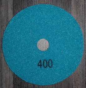 Diamond Polishing Pad 400Gritt - White