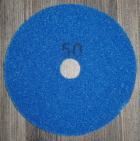 Diamond Polishing Pad 50Gritt - White