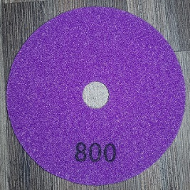 Diamond Polishing Pad 800Gritt - White